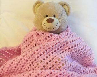 Diagonal Striped Blanket - PDF Crochet Pattern - Instant Download