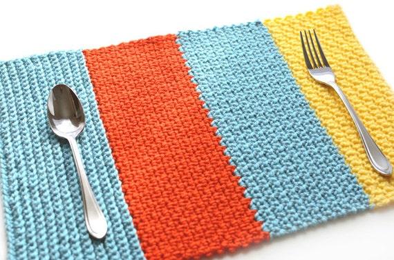 Single Crochet Sampler Placemat Pdf Crochet Pattern Etsy