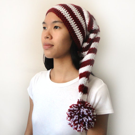 Long Stocking Cap (5 Sizes) - PDF Crochet Pattern - Instant Download d29bd0b6101