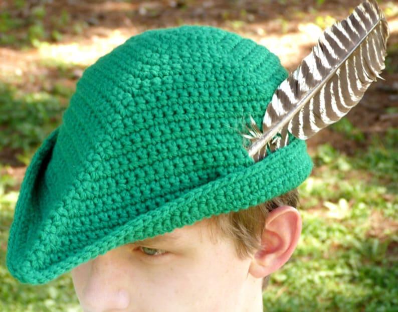 4b8a2401f84 Merry Yeoman Hat 5 Sizes PDF Crochet Pattern Instant