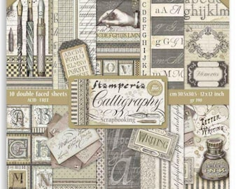 Roaring 20/'s Themed 12 x 12 scrapbook paper acid and lignin free