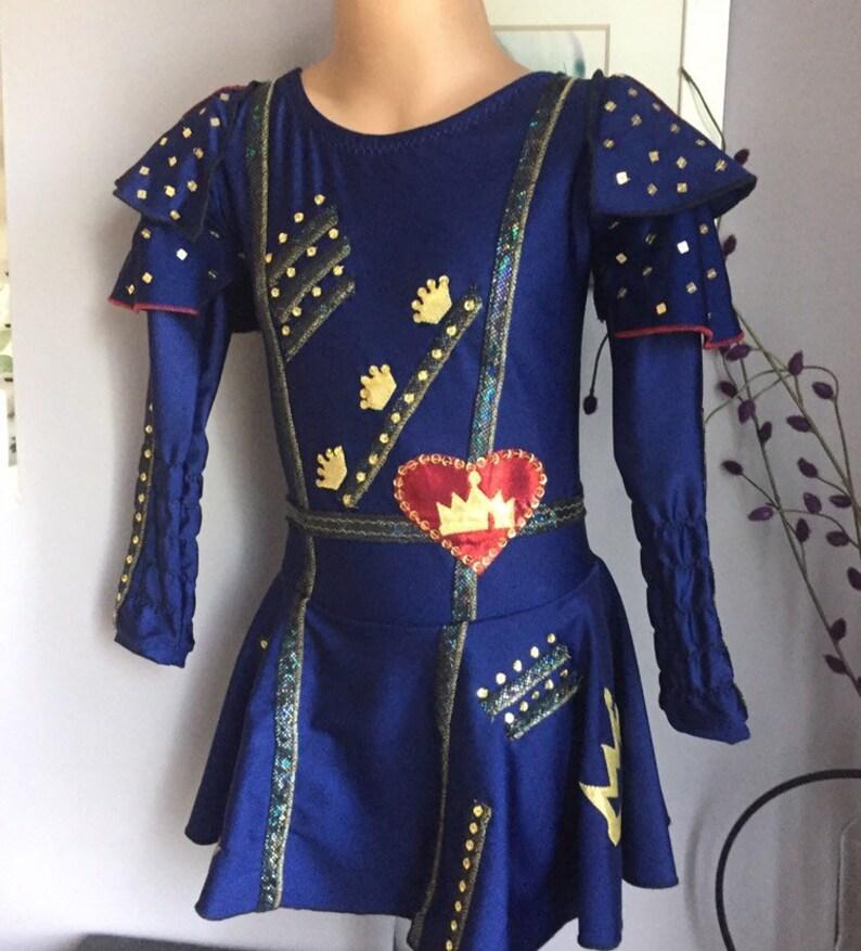 Evie Inspired Figure Skating Dress-Descendants Costume-Evie Costume -  SENDesigne Costume
