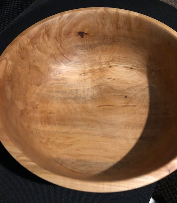 Turned Maple Bowl #121