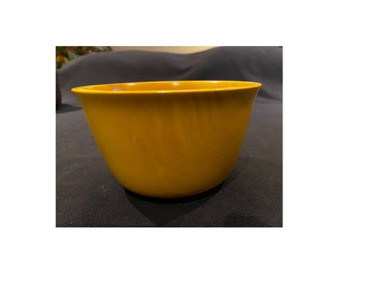 Maple Bowl #127 with Golden Yellow Dye