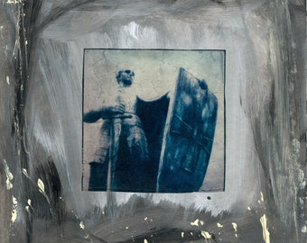 Jebenstraße - Polaroid Emulsion Lift