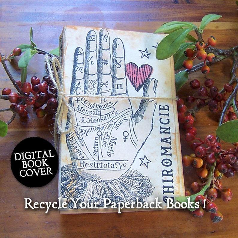 Halloween Clip Art  Vintage Digital Junk Journal Book Cover image 0