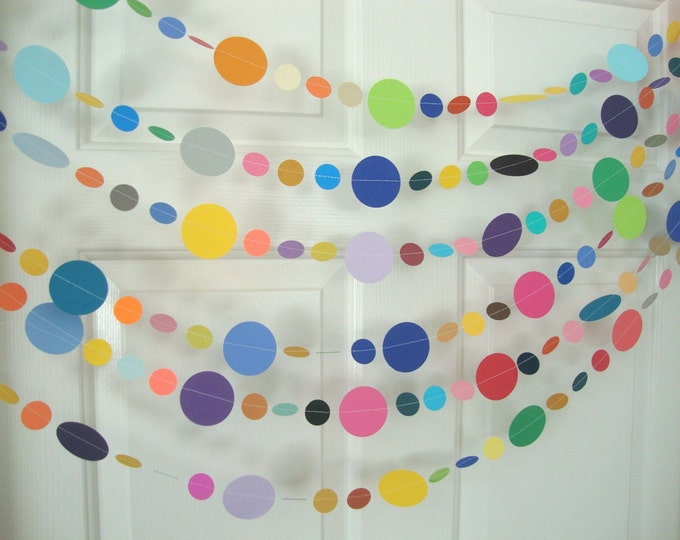 Colorful Party Garland