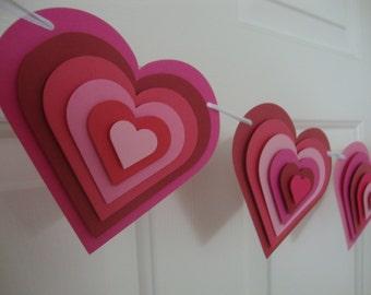 Valentine's Day banner | Wedding Banner Decoration | Heart Banner
