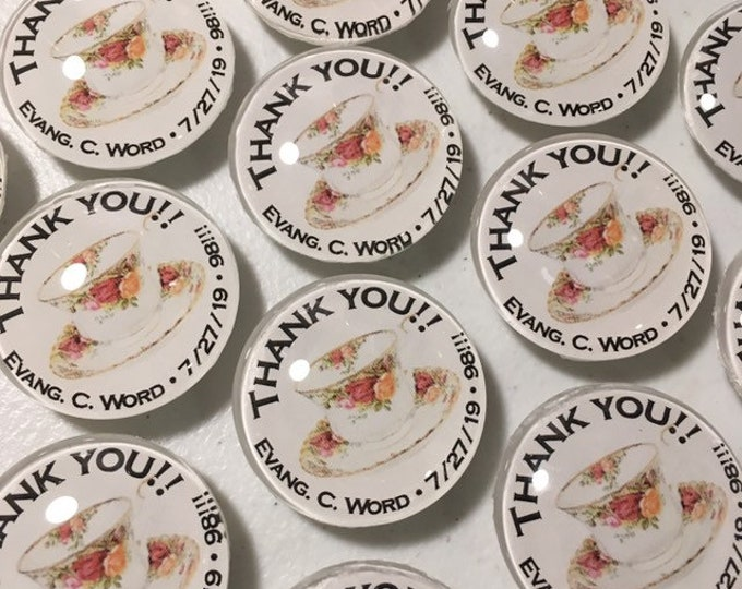 Set of 25 party favor magnets