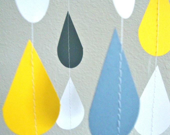 Custom Color Sprinkle Garland for Baby or Bridal/Wedding Shower, or Sprinkle Party