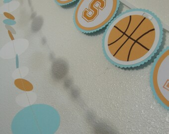 Sports baby or birthday banner