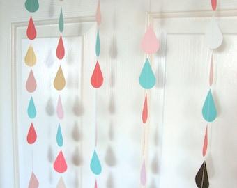 Gold baby/wedding sprinkle shower garland