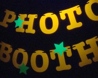 Black light banner