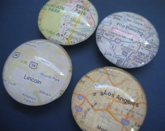 Set of 4 travel memory magnets