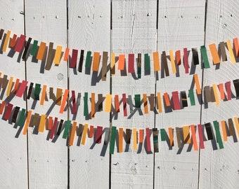 Rectangle Strip Fringe-like Party Garland Decoration