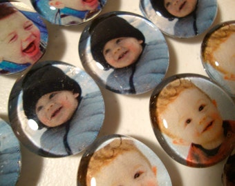 Set of 25 photo magnets