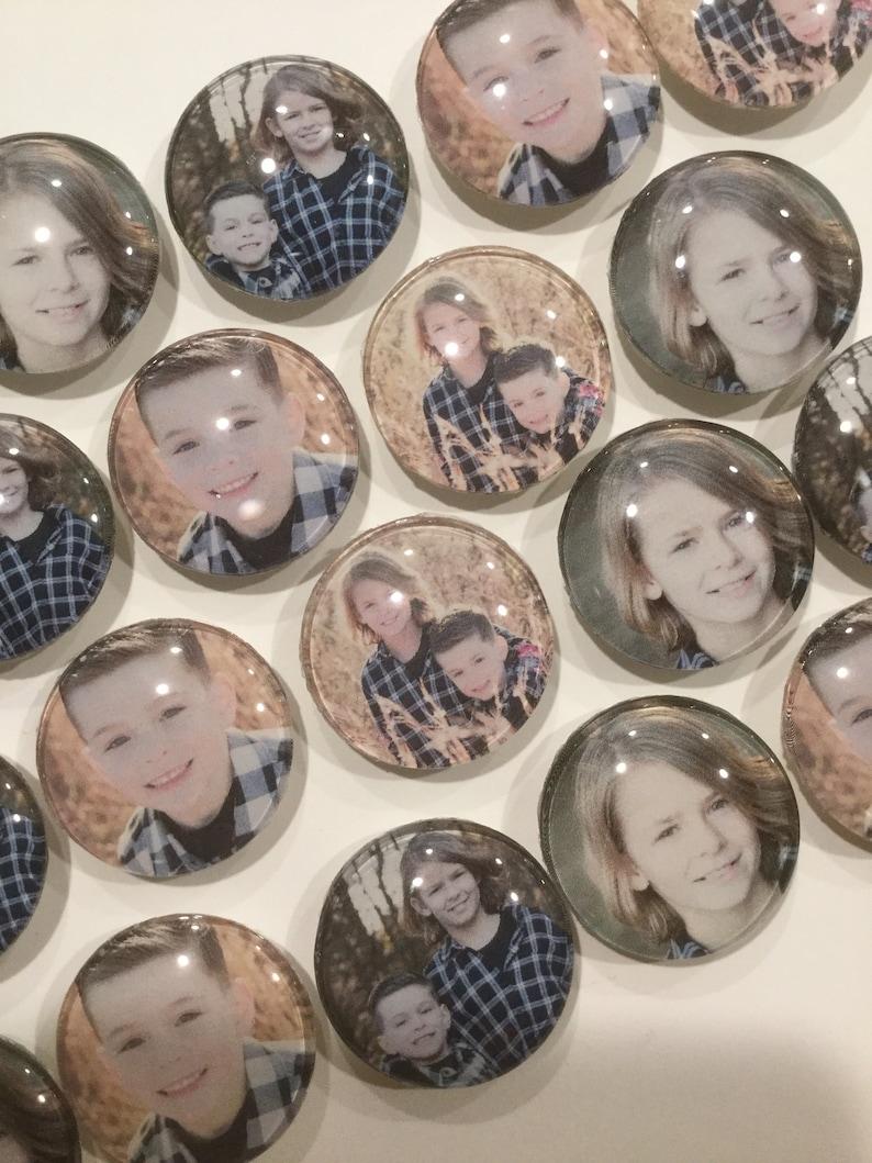 Set of 25 photo magnets image 0