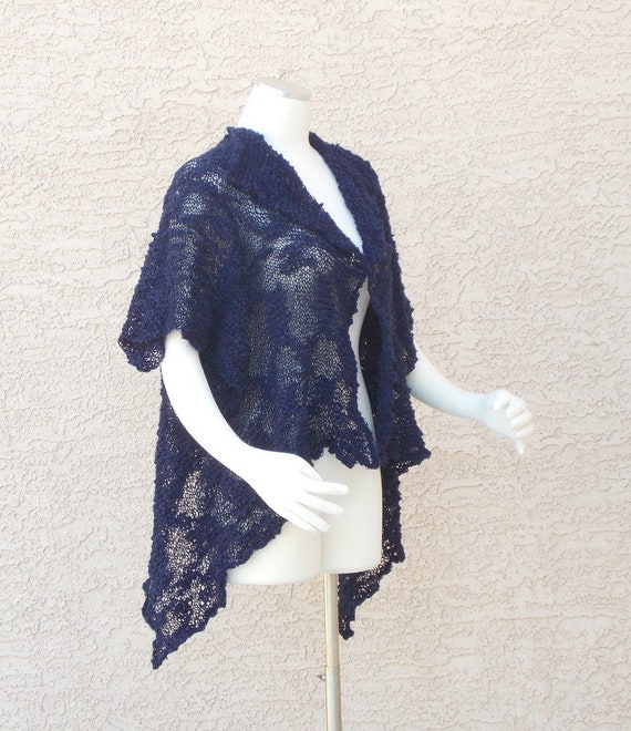 091d872b117 Hand Knit Cotton Summer Shrug Summer Bolero Summer Sweater