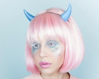 Devil Horns   Dragon Horns   Demon Horns   Pastel Goth Horns   Fairy Kei  Horns   Kawaii Devil Horns   Devil Horn Headband   Cosplay Horns d2a6501b53
