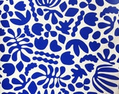 Removable Wallpaper // Muse Cobalt Blue // Removable and perfect for renters