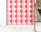 Removable Wallpaper / Mirror Mirror Face Print / Perfect for renters and DIY projects