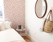 Removable Wallpaper / Land of Women Print / Perfect for renters and DIY crafters / Fully removable