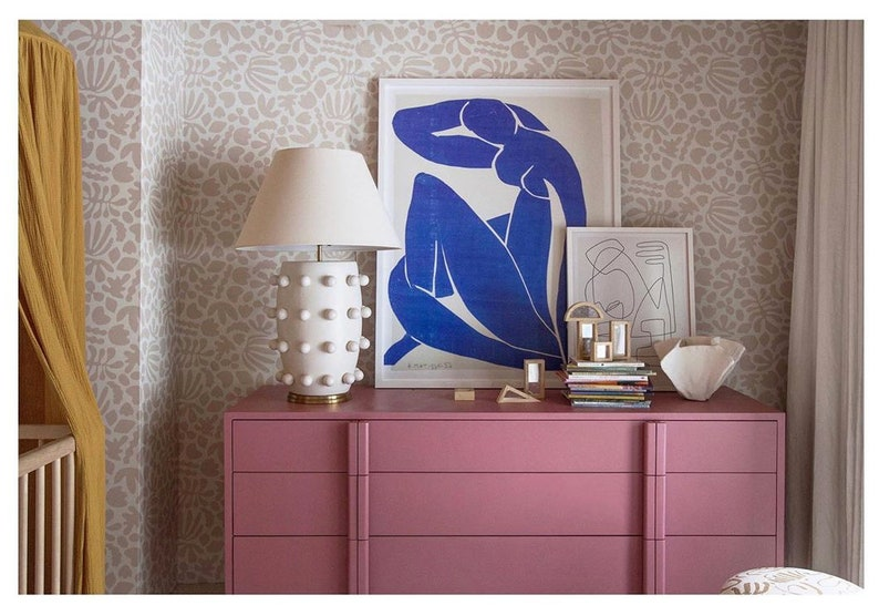Removable Wallpaper // Muse in Desert //Perfect for renters image 0