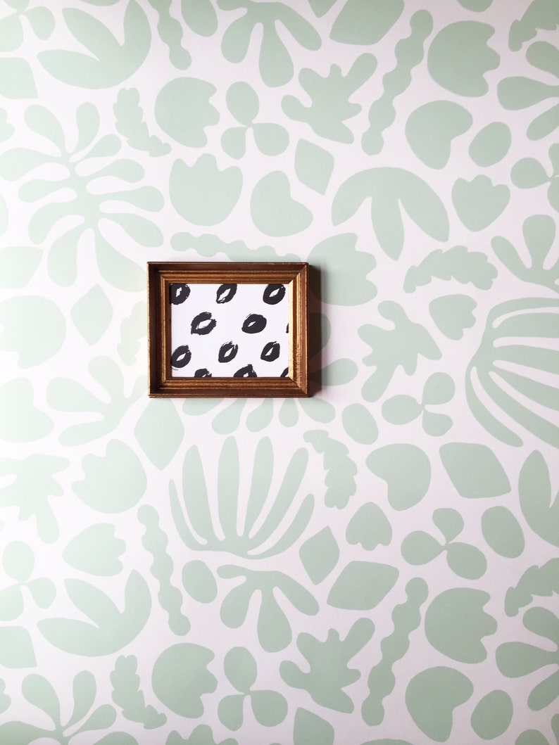 Removable Wallpaper // Muse Mint // Perfect for renters and image 0