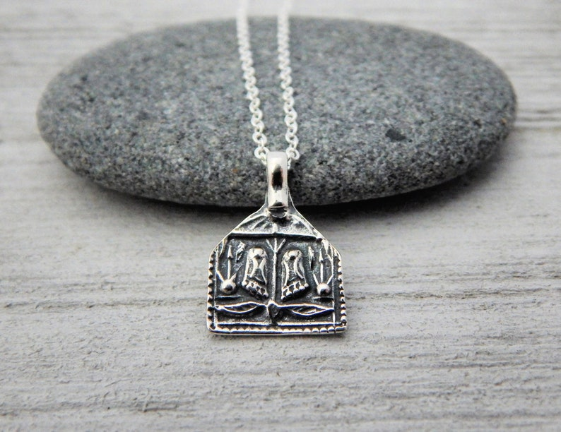 eecc1994bef grounded. buddha feet sterling silver necklace. rooted to gaia. yoga gift.  simple sterling buddha charm necklace.