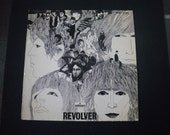 Vintage Beatles Revolver Record Album from Spain - Odeon - MOCL 5308 - Barcelona - vinyl
