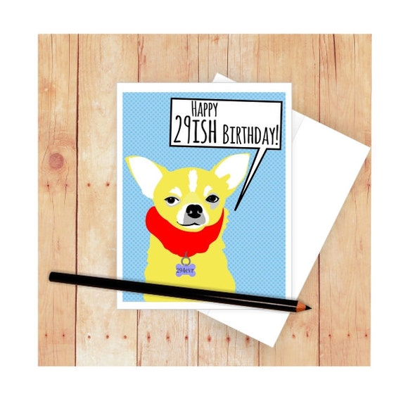 DOG GREETINGS CARD Two Images To Choose From CHIHUAHUA Hand Made