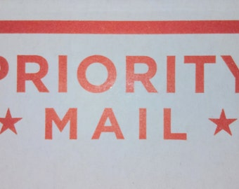 Priority Mail Upgrade USPS