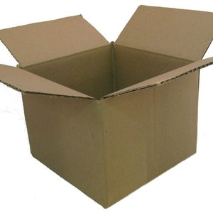 100 10x10x4 Cardboard Packing Mailing Moving Shipping Boxes Corrugated Cartons