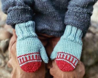 Mitten Knitting Pattern PDF, Knit Mittens, Easy Knitting Pattern, Instant Download