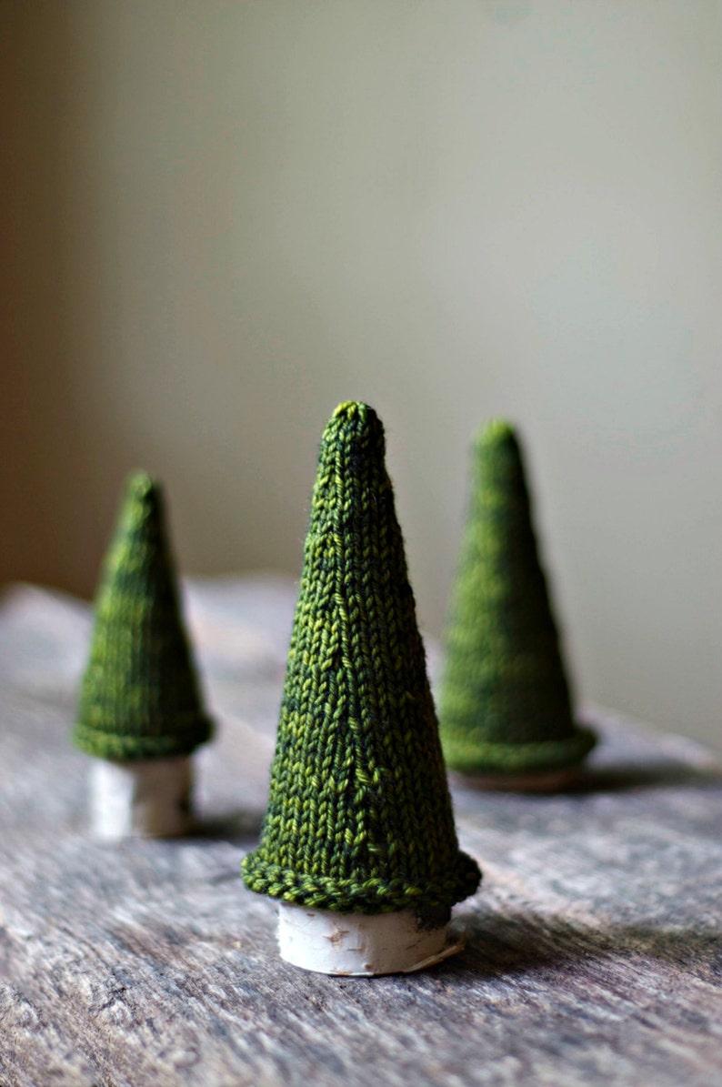 Knitting Pattern  Jack Pine Tree  Knit Christmas Tree  image 0