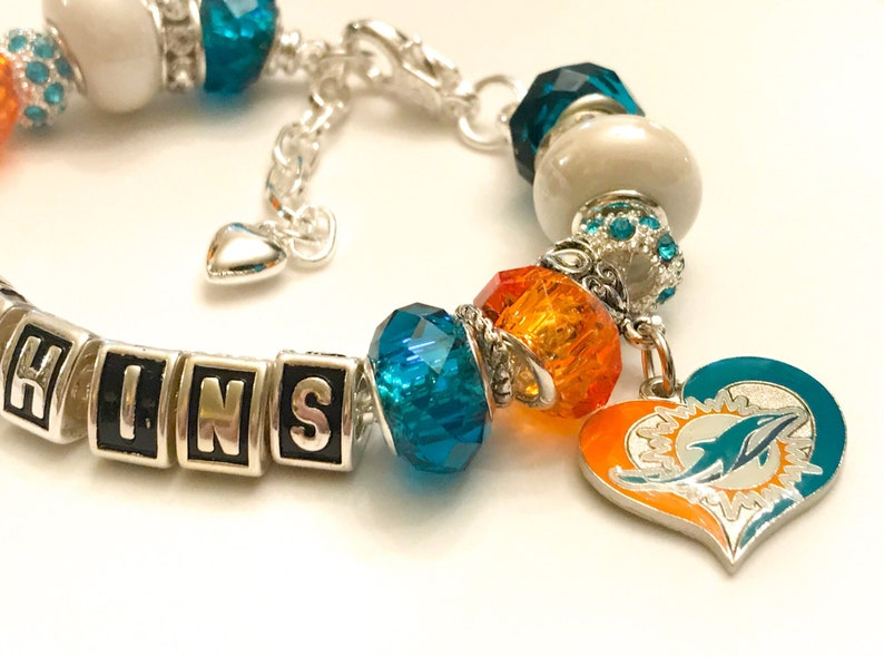 252fd3df Miami Dolphins Jewelry bracelets handmade inspired jewelry The ultimate  INSPIRED and handmade