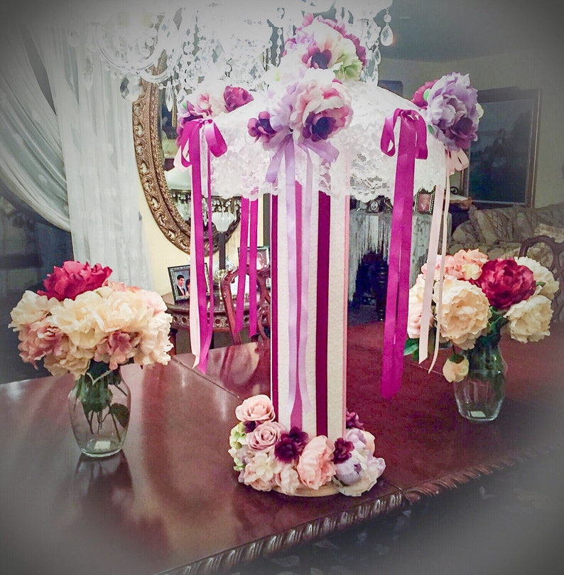 Bridal Shower Umbrella Baby Shower Umbrella Centerpiece Custom Etsy