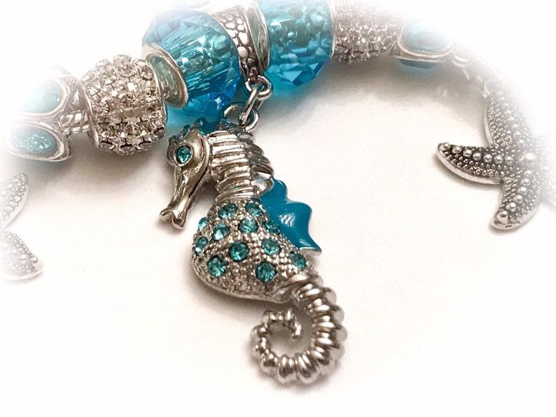 beach jewelry gift bracelet nautical jewelry Beach Bracelet nautical  jewelry Birthday gift