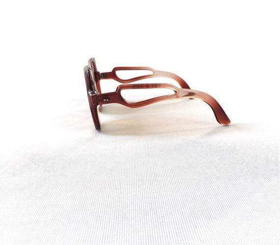 Chic vintage seventies ombré sunglasses - image 3