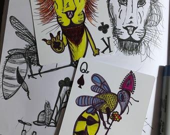 Individual Playing Card