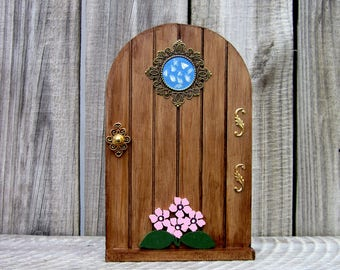 Fairy Door, Stained Wood, Pretend Play, Fairy, Role Play, Childs Gift, Whimsical, Fairy Play, Magical Door, Imaginative Play, Fairy World