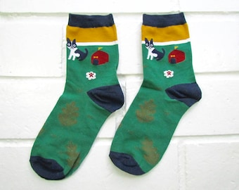 Socks | Womens Socks | Novelty Socks | Funny Socks | Cute Socks | Women Novelty Socks | Gifts Idea | Crazy Socks | Cartoon Dog