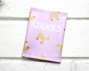 Change Purse | Coin Purse | Coin Pouch | Coin Holder | Small Change Purse | Cute Coin Purse | Gift Idea | Vegan Purse | Animal Cookies