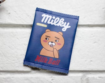 Change Purse | Coin Purse | Coin Pouch | Coin Holder | Small Change Purse | Cute Coin Purse | Zipper Pouch | Gift Idea | Vegan Purse | Bear