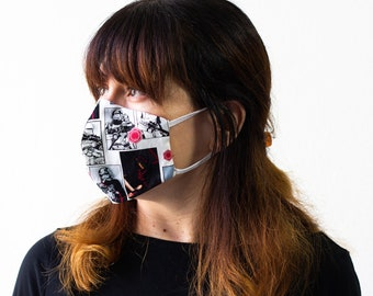 Stormtroopers | Triple Layer Face Mask with Adjustable Nose Wire and Elastic Band | Completely Washable, Reusable, For Adults & Children