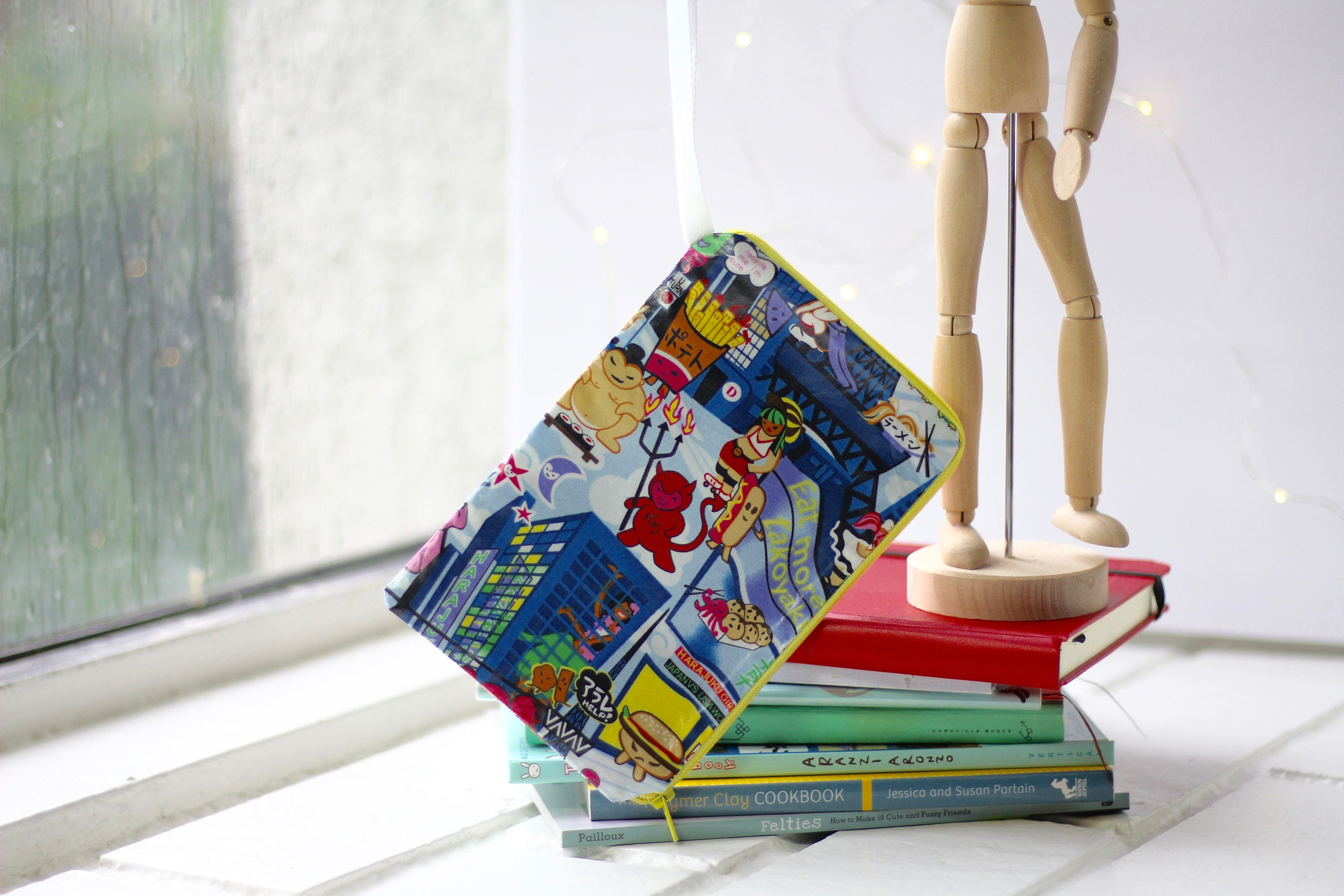 Wristlet Wallet Anime Japanese Characters In New York