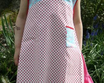 Pattern, Child's Apron, Vintage Reproduction.