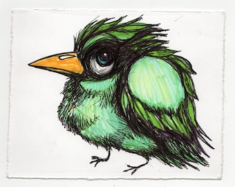 Bird Drawing #3