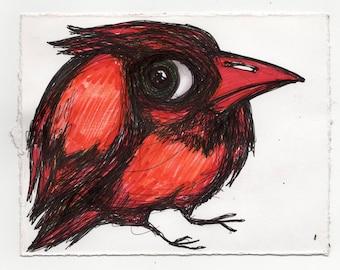 Bird Drawing #21