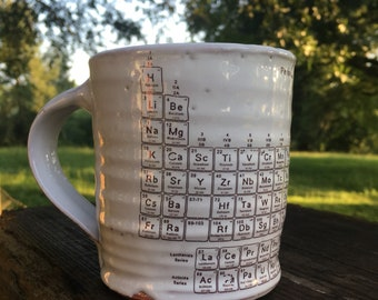 Periodic table mug etsy popular items for periodic table mug urtaz Choice Image